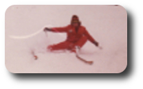 Robert Wayne Nelmes ~ Asst. Director Sno Pro Ski School 1973-74, it is an Outrigger turn, I am not falling.