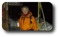 Me Robert Wayne Nelmes Feb 15 after getting back to my cabin, 13km hike.